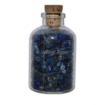 Lapis Lazuli Meditation Small Bottle Chips