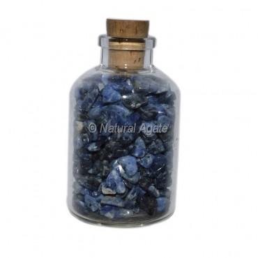 Sodalite Meditation Small Bottle Chips
