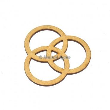 Caltic Design Wood Coaster