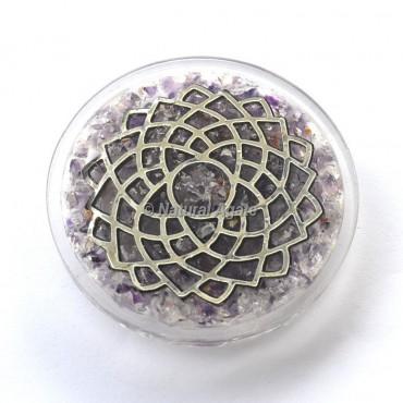 Crown Chakra Orgone Coaster