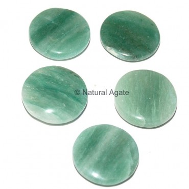 Green Aventruine Round Disc