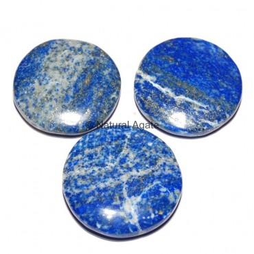 Lapis Lazuli Round Disc