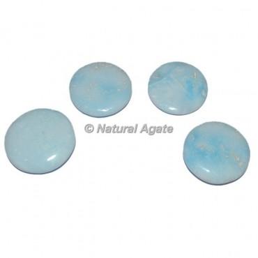 Blue Aragonite Palm Stone