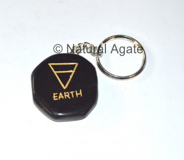 Earth Element Reiki Keychain