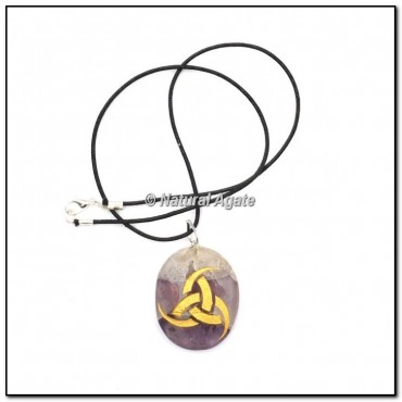 Reiki Symbol Oval Pendants