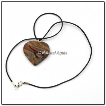 Tiger Eye Heart Pendants