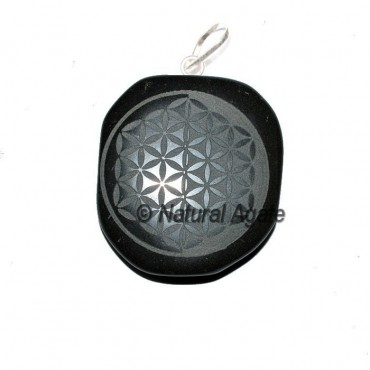 Double Embossed Flower of Life Pendants