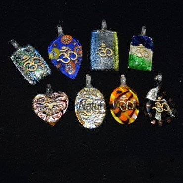 Mis Model Glass Om Pendants