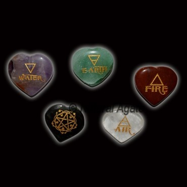 5 Stone Reiki Element Set