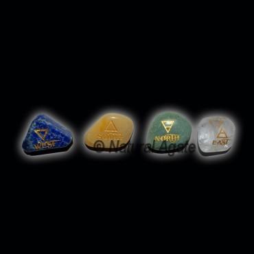 Reiki Element Tumbled Stone Set