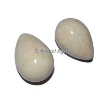 Cream Moonstone Eggs small