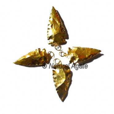 Fully Goldplated Arrowheads
