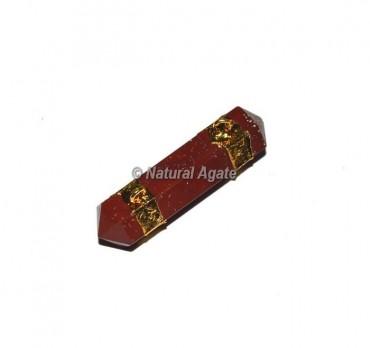 Red Jasper Double Terminated Pencil Pendants