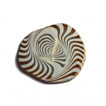 3D Engraved Design On Agate Slice