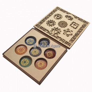 Seven Chakra Symbol Gift Box