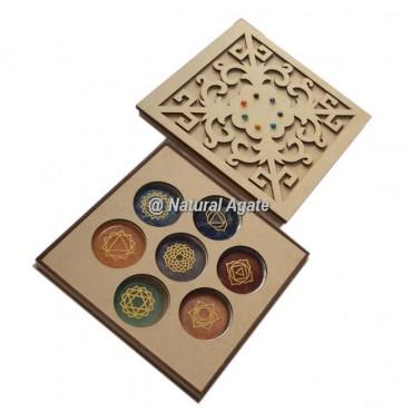 New Flower Design On Chakra Gift Box