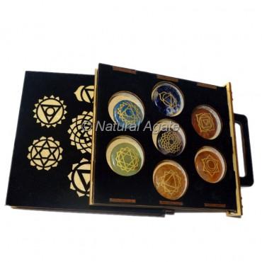 7 Chakra Set with Black Gift Box