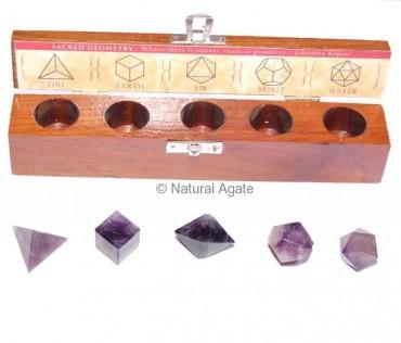 Amethyst Geometry set