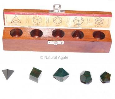 Blood Stone Geometry Set