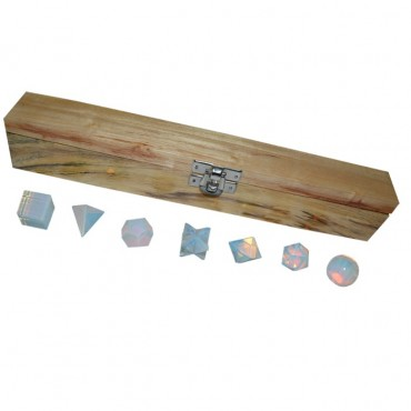 Opalite 7pcs Geometry Set