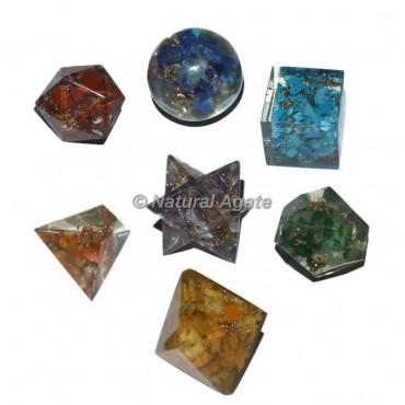 Orgone Seven Chakra Geometry Set