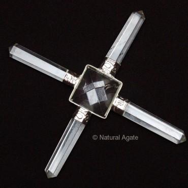 Crystal Quartz Pyramid Generator