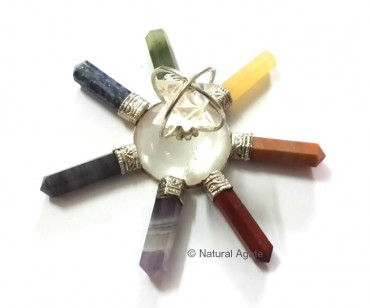 Chakra Energy Generator With Crystal Star