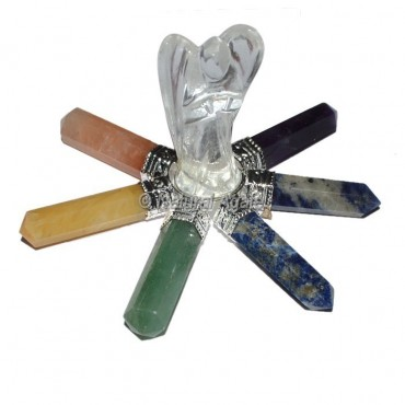 Crystal Angels with 7 Chakra Point Generator