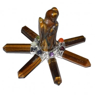Tiger Eye Angel with Tiger Point Generator