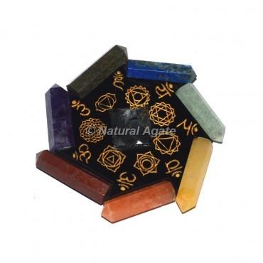 Seven Chakra Pencil Orgone Generator