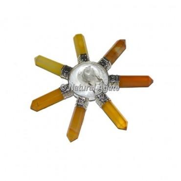 Yellow Onyx Healing Energy Generator