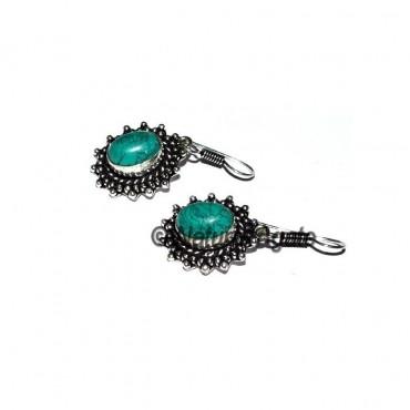 Turquoise Gemstone Fashion Earrings