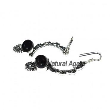Black Onyx Fashion Earrings