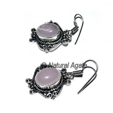 Rose Quartz Healing Earrings