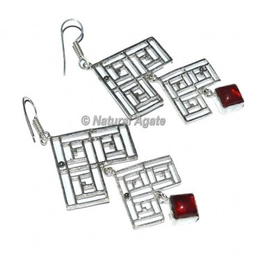 Garnet Healing Earrings