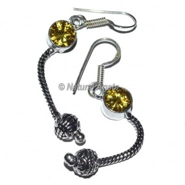 Imitation Tibetan Earrings