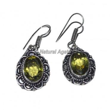 Lemon Quartz Earrings