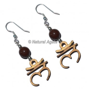 Root Chakra Earrings