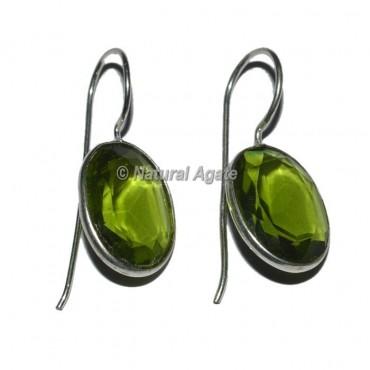 Imitation Oval Earrings