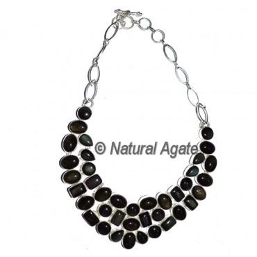 Laborite Gemstone Necklace