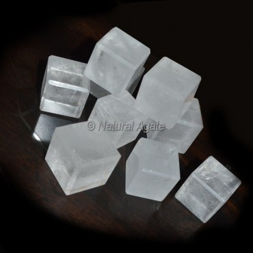 Crystal Quartz Healing Cubes