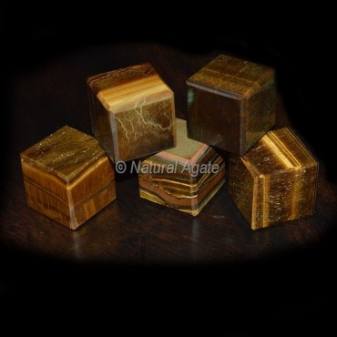 Tiger Eye Cubes
