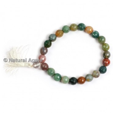 Fancy Jasper Faceted Healing Yoga Bracelet