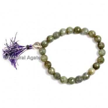 Labradorite Faceted Healing Yoga Bracelet