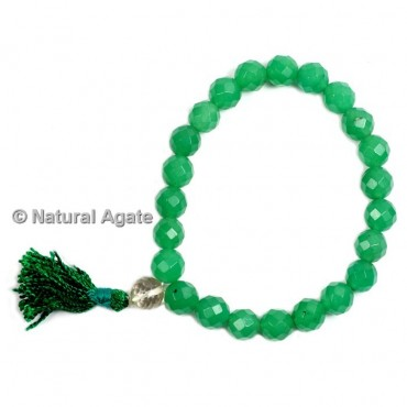 Green Aventurine Faceted Healing Yoga Bracelet