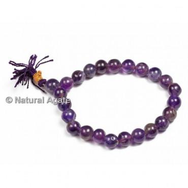 High Quality Amethyst Healing Yoga Bracelet