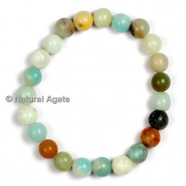 Mix Stone Aqua Healing Yoga Bracelet