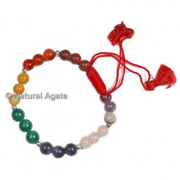 Fancy Seven Chakra Healing Yoga Bracelet