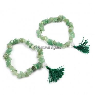 Green Aventurine Chips Healing Yoga Bracelet