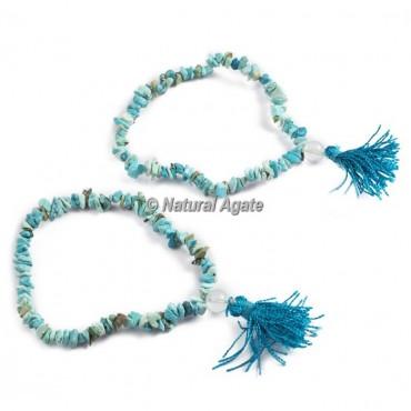 Turquoise Chips Healing Yoga Bracelet